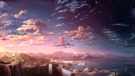 Beautiful Anime Scenery Wallpapers Top Free Beautiful Anime Scenery Backgrounds WallpaperAccess