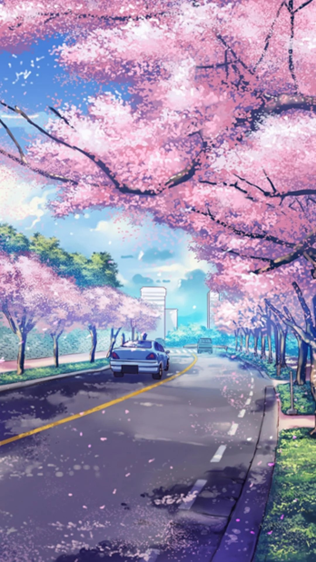 Anime Background Moving : anime, background, moving, Japanese, Anime, IPhone, Wallpapers, Backgrounds, WallpaperAccess