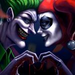 Joker Harley Quinn Iphone Wallpapers Top Free Joker Harley Quinn Iphone Backgrounds Wallpaperaccess