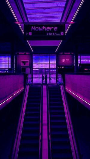 aesthetic purple vaporwave wallpapers backgrounds wallpaperaccess