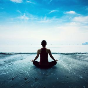 yoga sea wallpapers overlooking horizon qhd meditation desktop background backgrounds wallpaperaccess px picserio direct papers