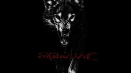 wolf wallpapers shadowwolf wolves shadow evil dark deviantart wallpaperaccess link spacehero