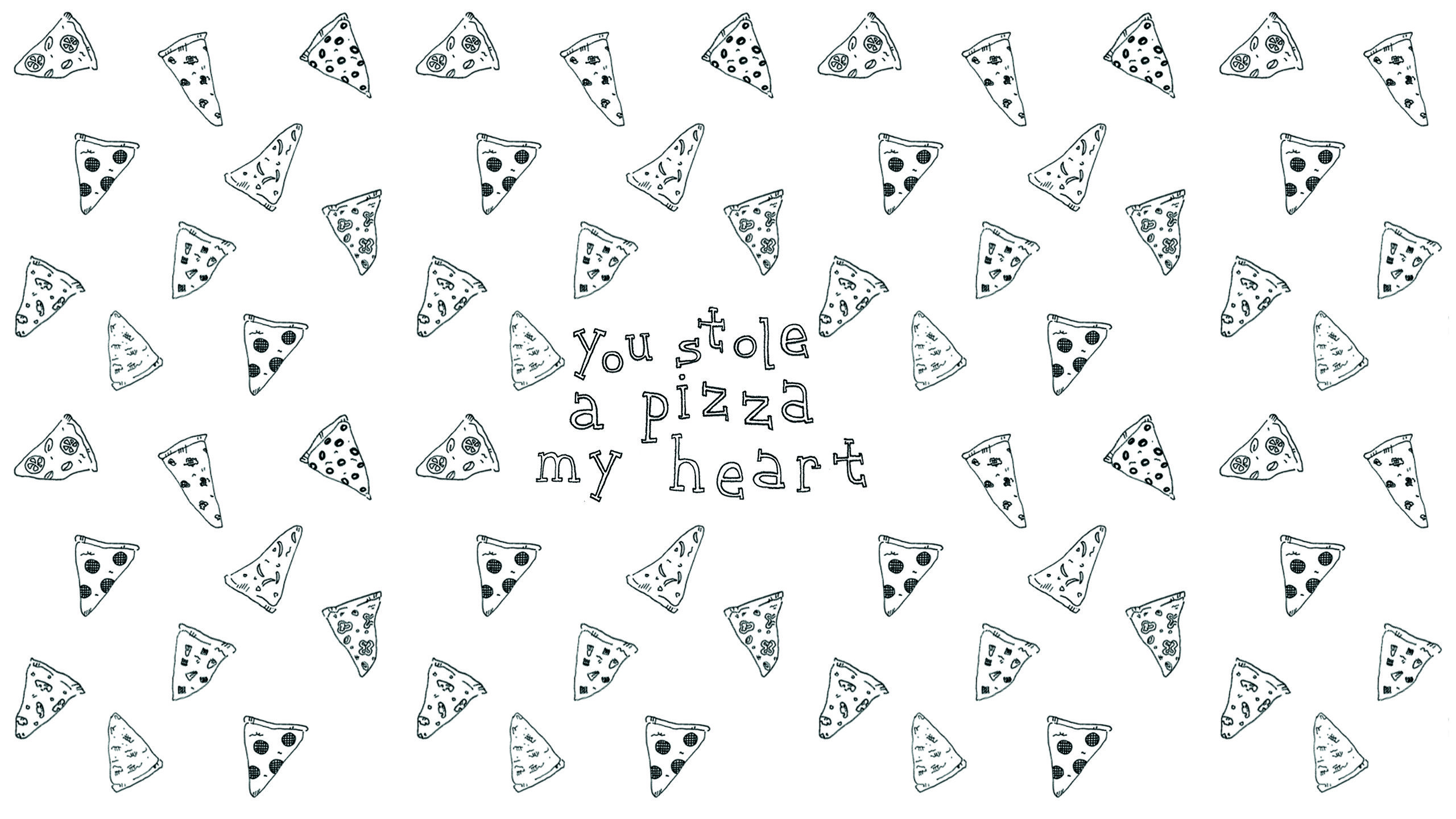 Cute Pizza Wallpapers