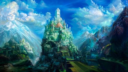 Anime Castle Wallpapers Top Free Anime Castle Backgrounds WallpaperAccess
