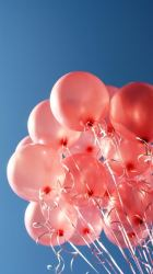 iphone balloon pink happy wallpapers background balloons backgrounds sky plus aesthetic phone retina fondos objects hd bunch pure baloon pantalla
