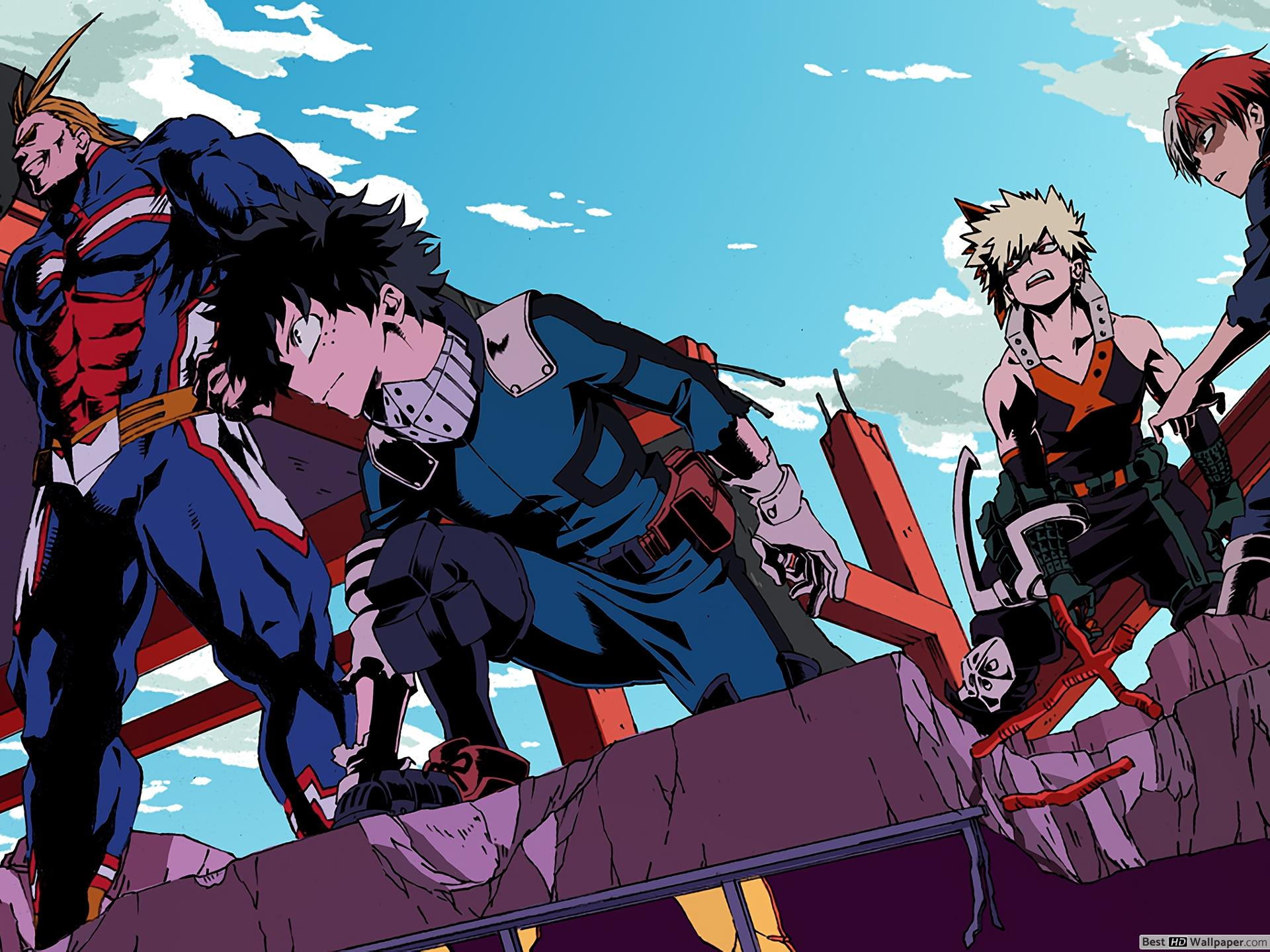 But there's a workaround to change the desktop background on an unactivated copy of windows 10. My Hero Academia 4K Wallpapers - Top Free My Hero Academia ...