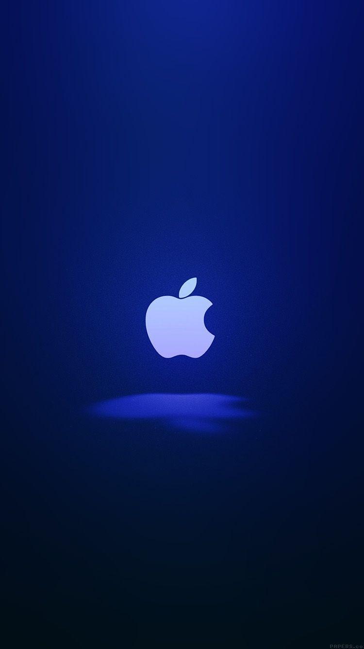 blue apple logo wallpapers