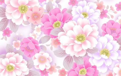 Pink Floral Wallpapers Top Free Pink Floral Backgrounds WallpaperAccess
