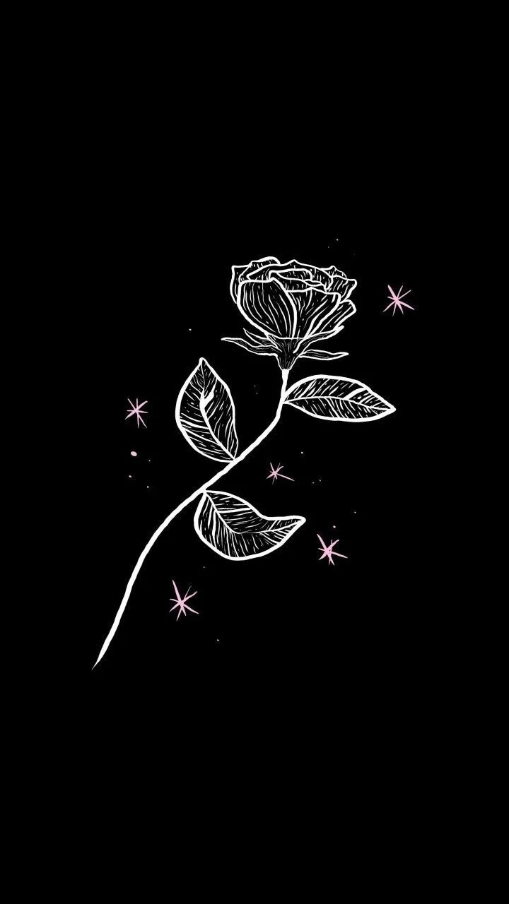 Cute Aesthetic Backgrounds Black : aesthetic, backgrounds, black, Black, White, Aesthetic, Wallpapers, Backgrounds, WallpaperAccess