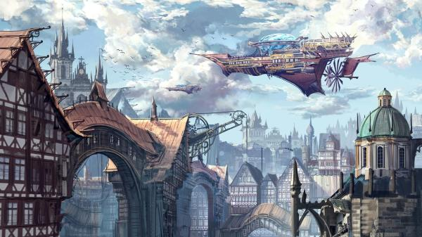 Steampunk City Wallpapers - Top Free