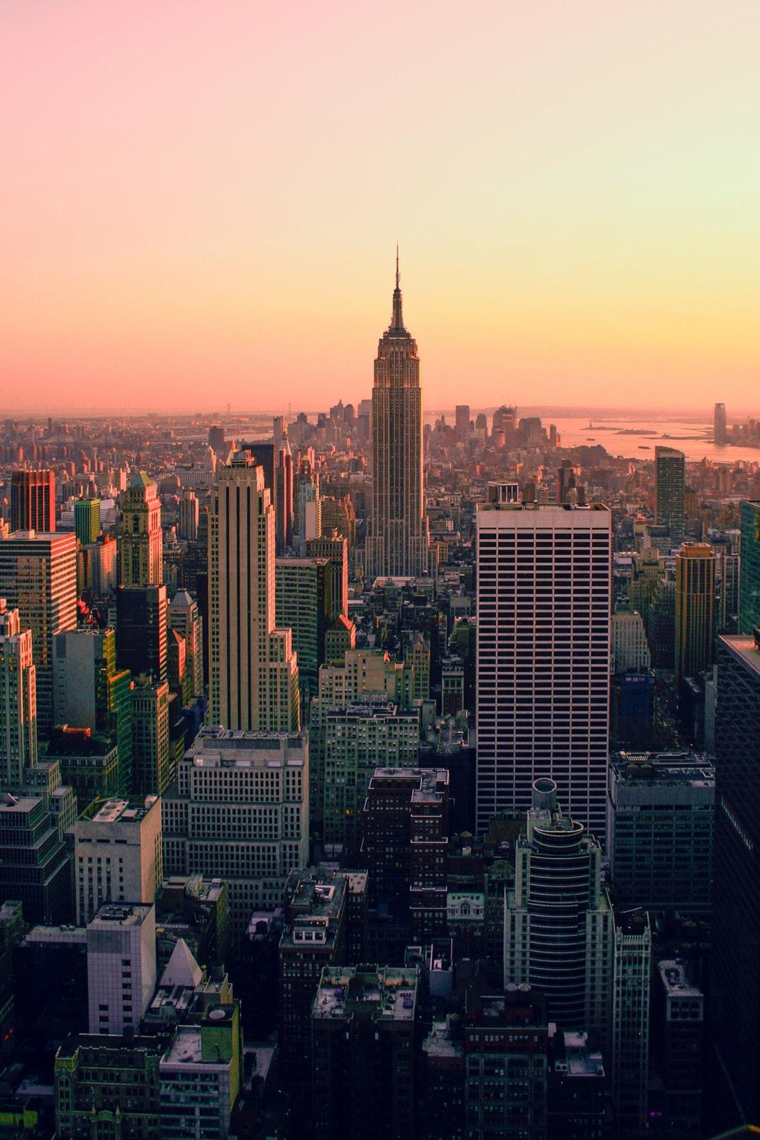 Download 1920x1080 wallpaper new york, dark, night, city