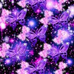Purple Glitter Butterfly Wallpapers Top Free Purple Glitter Butterfly Backgrounds Wallpaperaccess