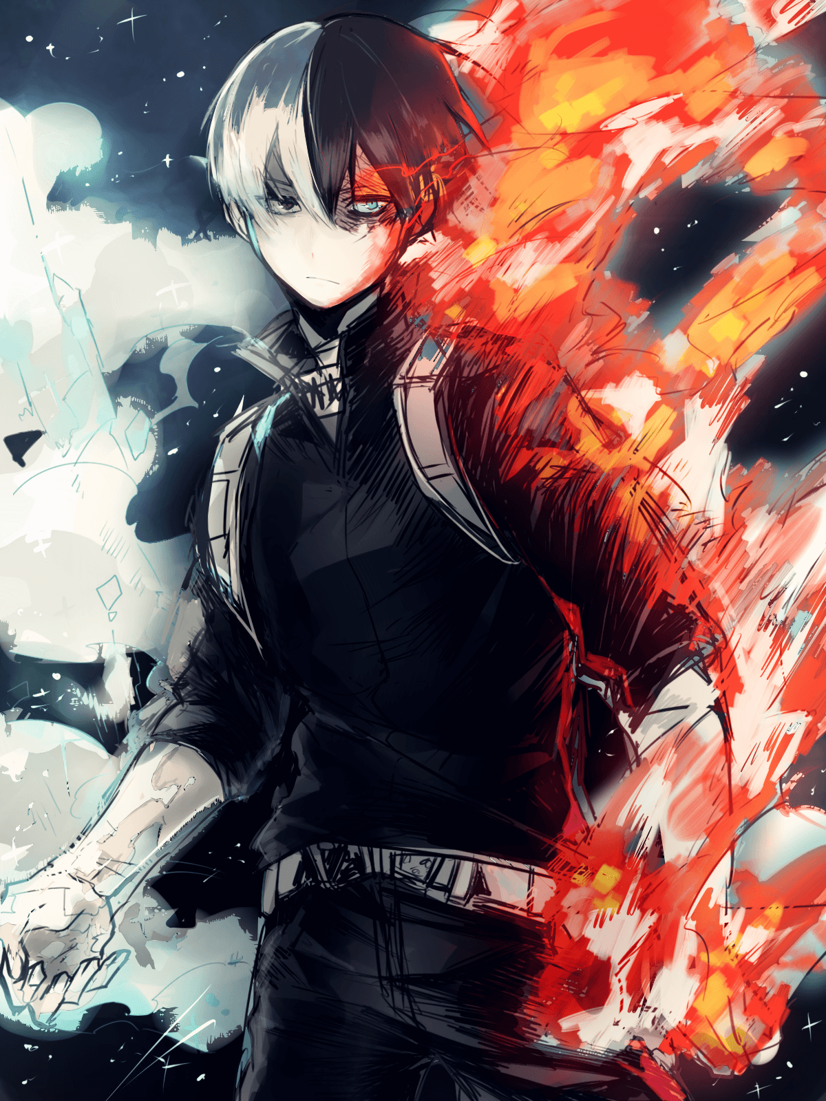 There is many background : My Hero Academia Todoroki Wallpapers - Top Free My Hero ...