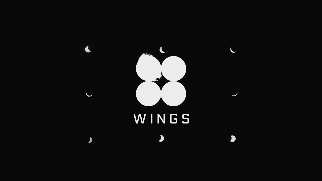 bts wings desktop wallpapers