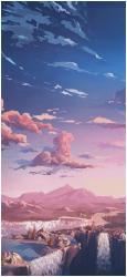 aesthetic anime iphone hd wallpapers pink 90s backgrounds laptop clouds cloud desktop fondos scenery 4k wallpapersafari cave rosa wallpaperaccess hintergrundbilder