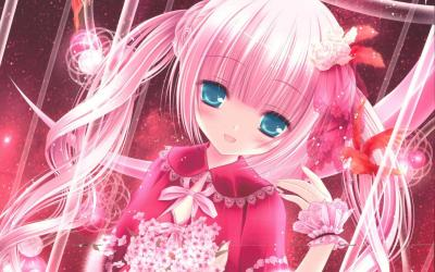 anime pink cute wallpapers aesthetic pc hd background backgrounds widescreen bigest wallpaperaccess anband smiths px