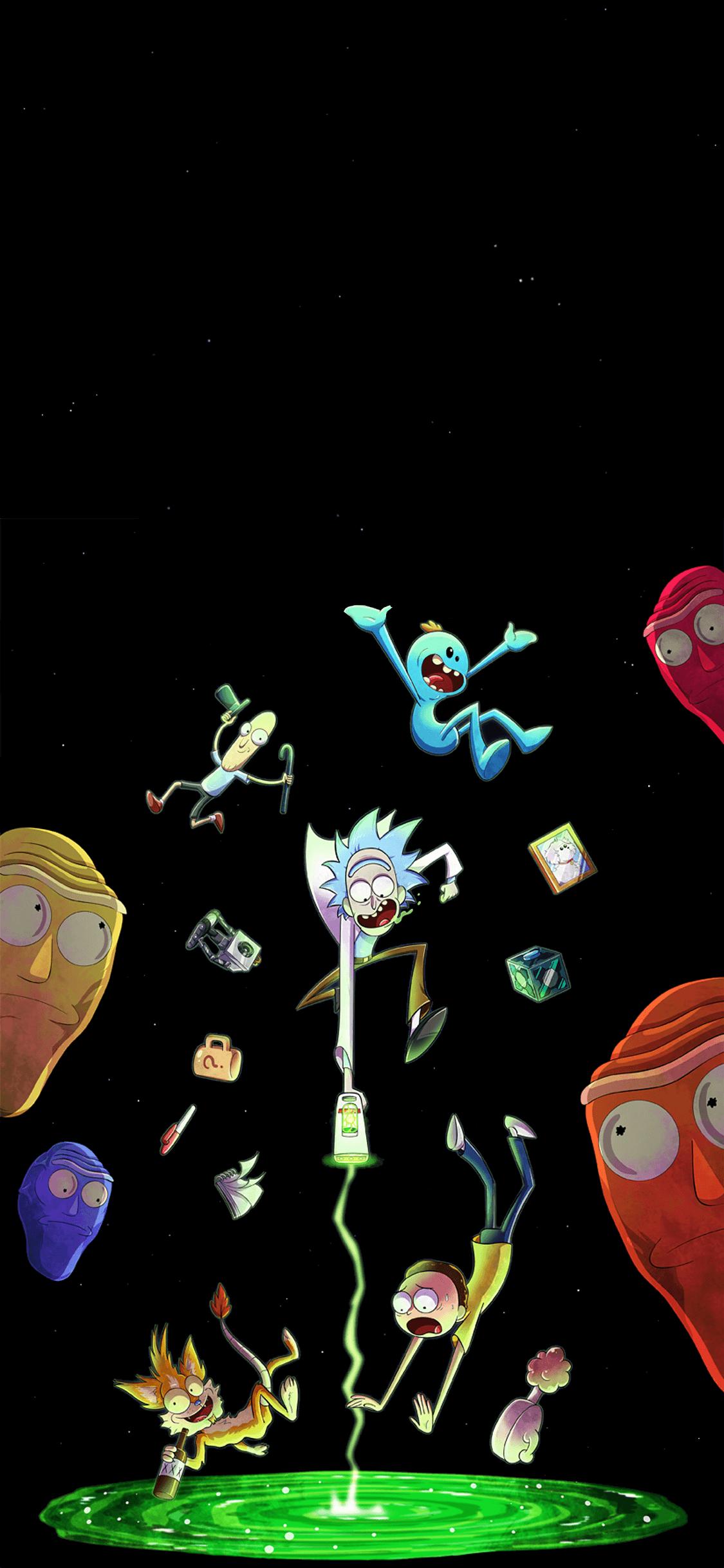 Rick and Morty Windows 10 Theme - ExpoThemes