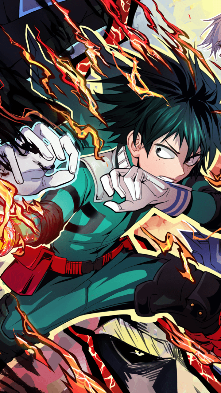 Summer reading club, we've got special mobile and desktop wallpapers available for download! My Hero Academia iPhone Wallpapers - Top Free My Hero ...
