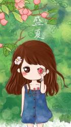 cute chibi anime kawaii wallpapers fofos cartoon sweet backgrounds wallpaperaccess desenhos da awesome kute amor salvo duitang img5
