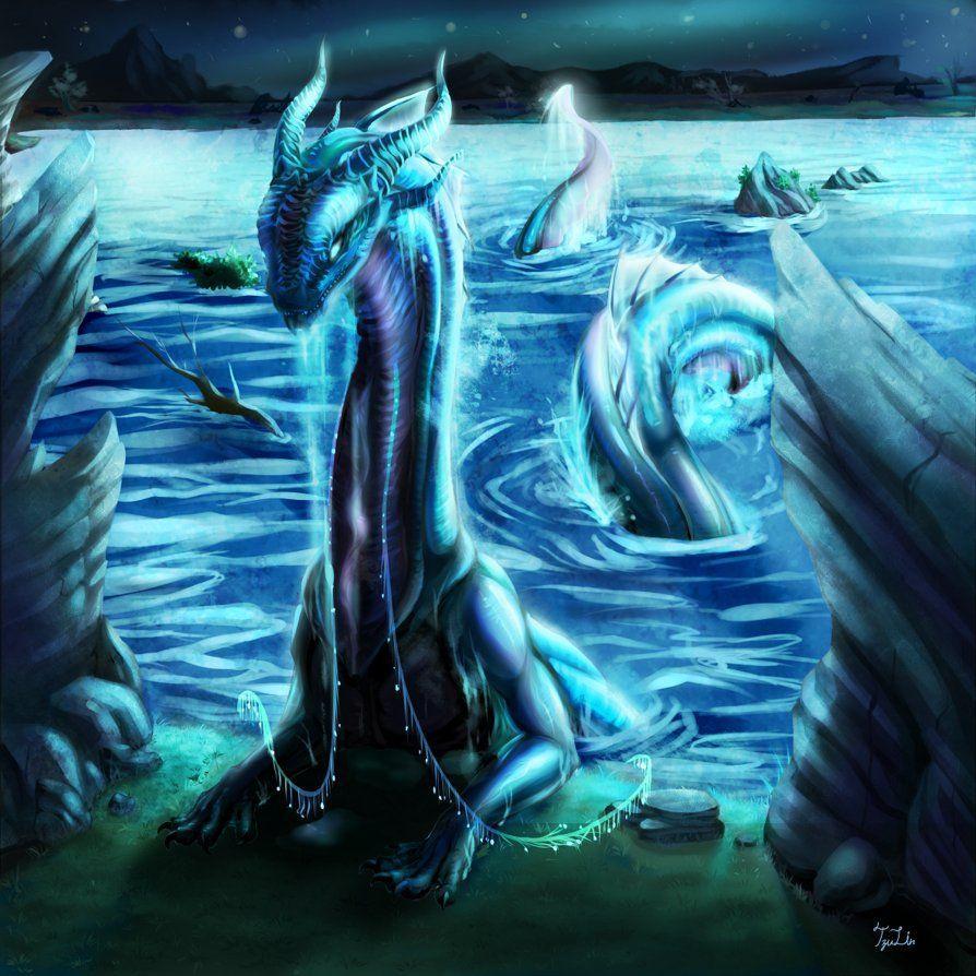 anime water dragon wallpapers