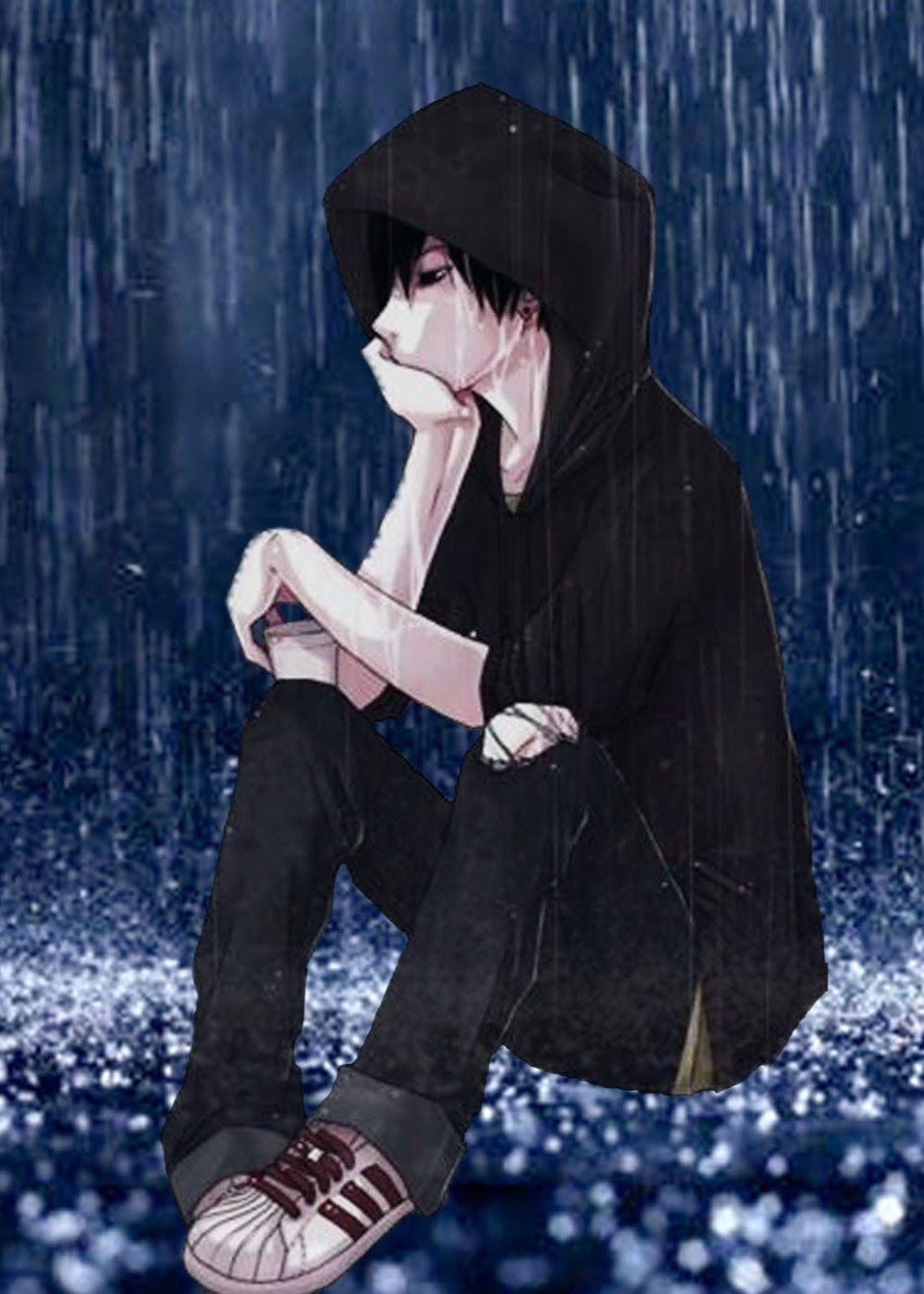 Alone Sad Anime Boys Wallpapers Top Free Alone Sad Anime Boys Backgrounds Wallpaperaccess