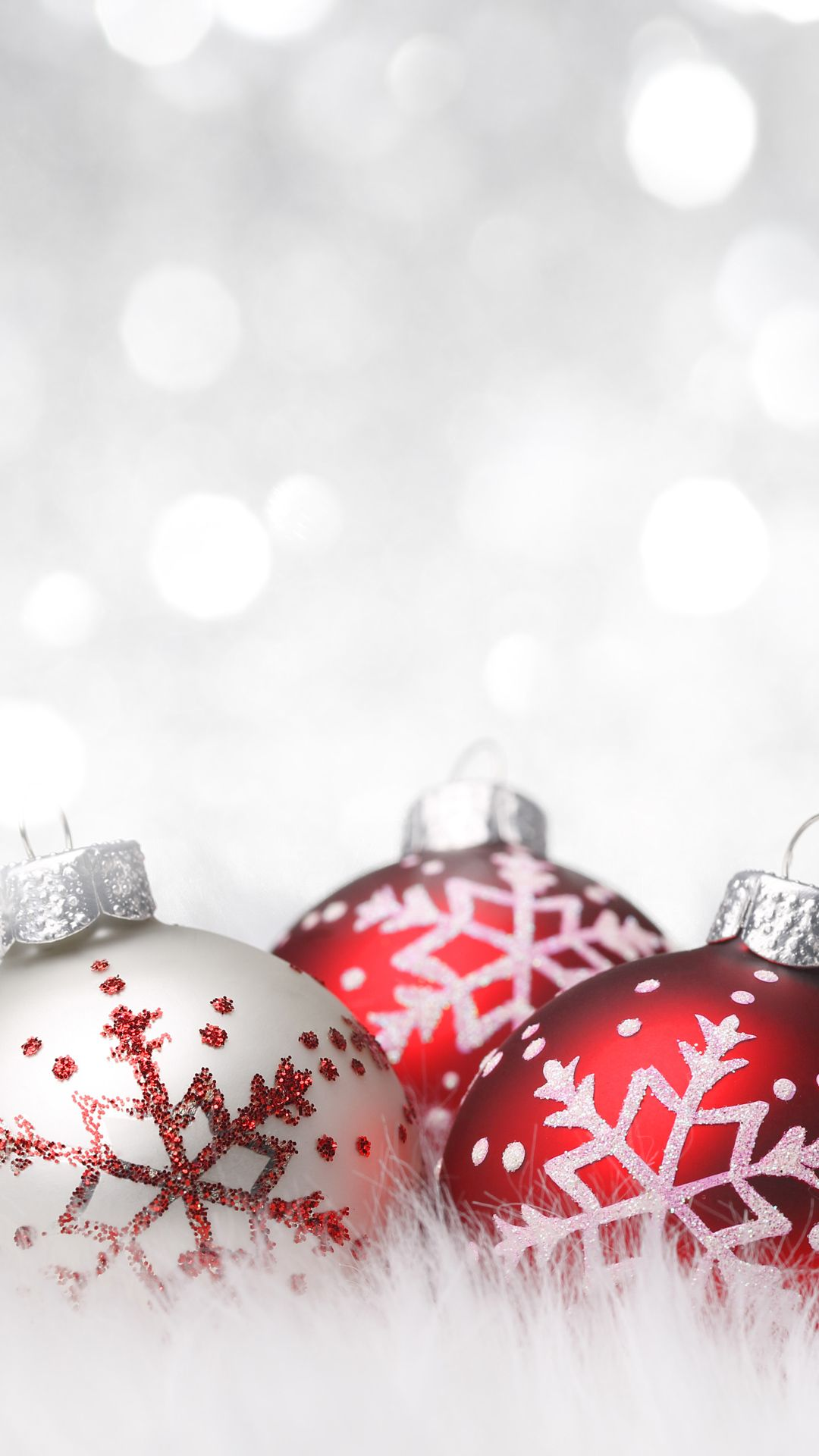 Red And White Christmas Wallpapers Desktop Background