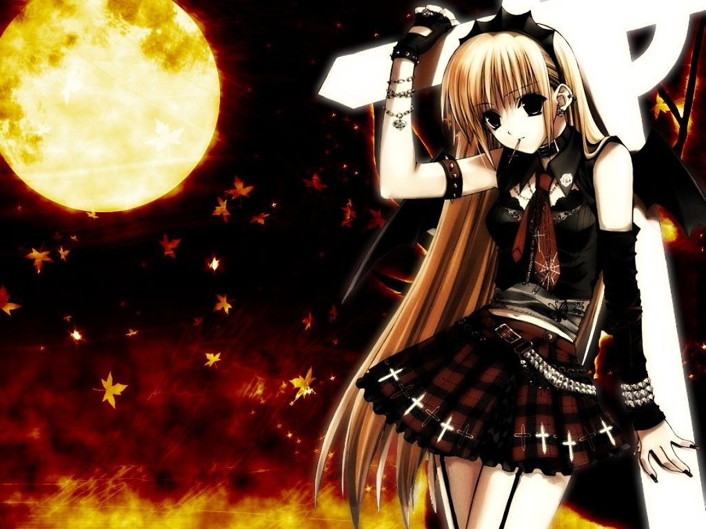 Emo Anime Wallpapers Top Free Emo Anime Backgrounds Wallpaperaccess