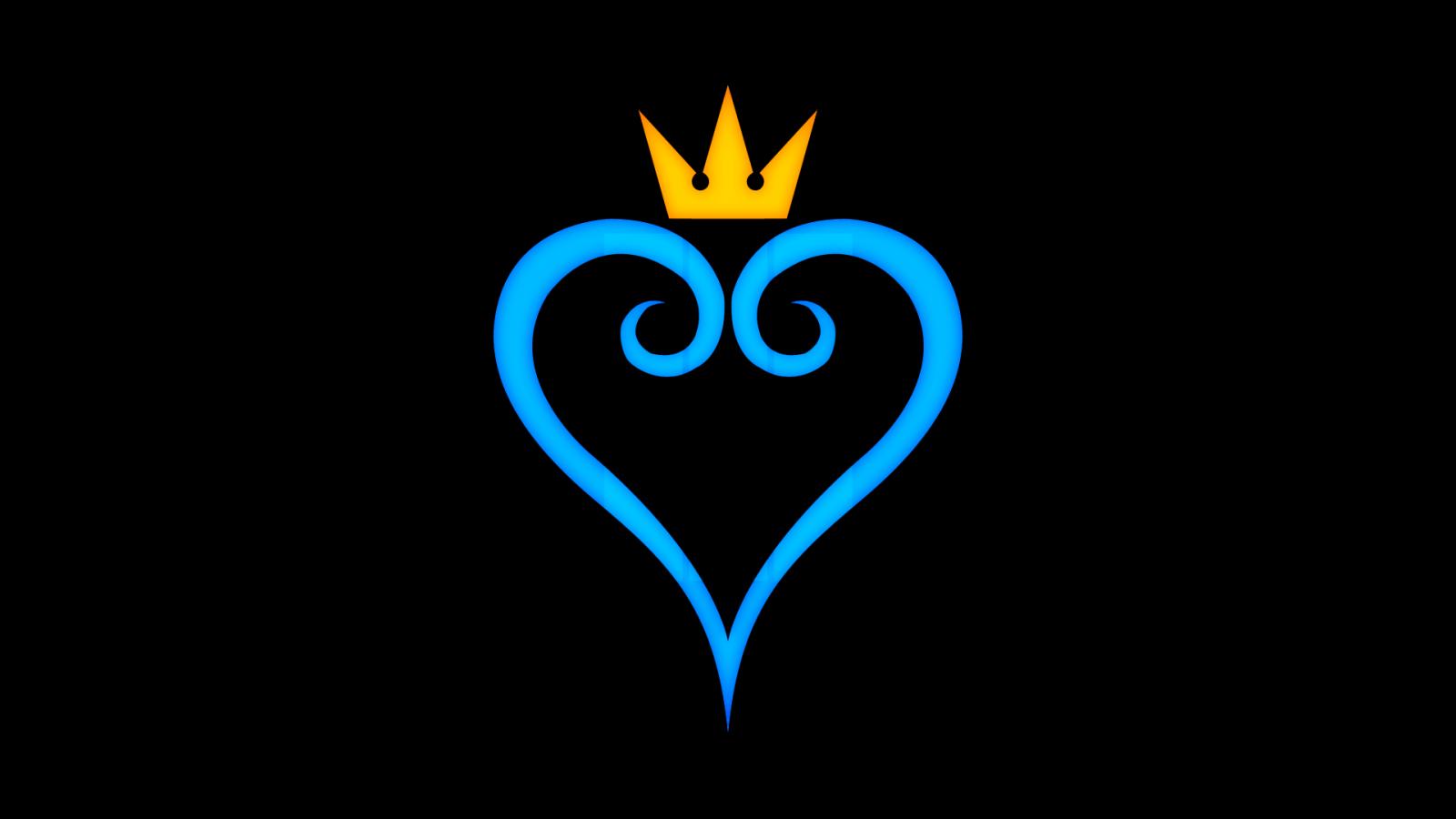 kingdom hearts logo wallpapers