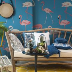 Funky Living Room Wallpaper Design Malaysia Style Inspiration Have You Got Flamingo Fever Bring Some Charm And Personality To Your Home With