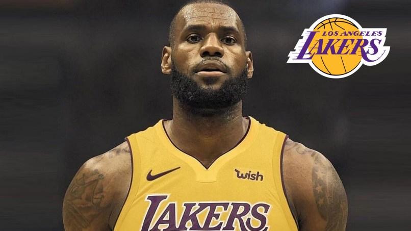 Lebron James Lakers Jersey Wallpaper 2018 Basketball Wallpapers