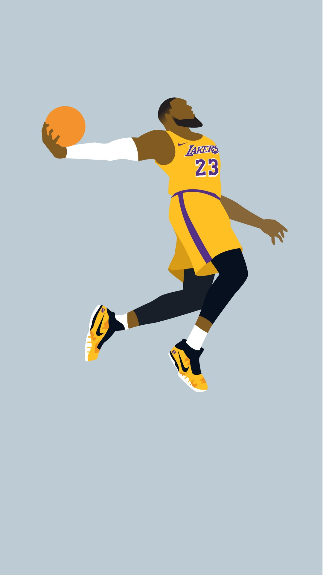 Lebron James Lakers Jersey Wallpaper - Fresh Wallpapers