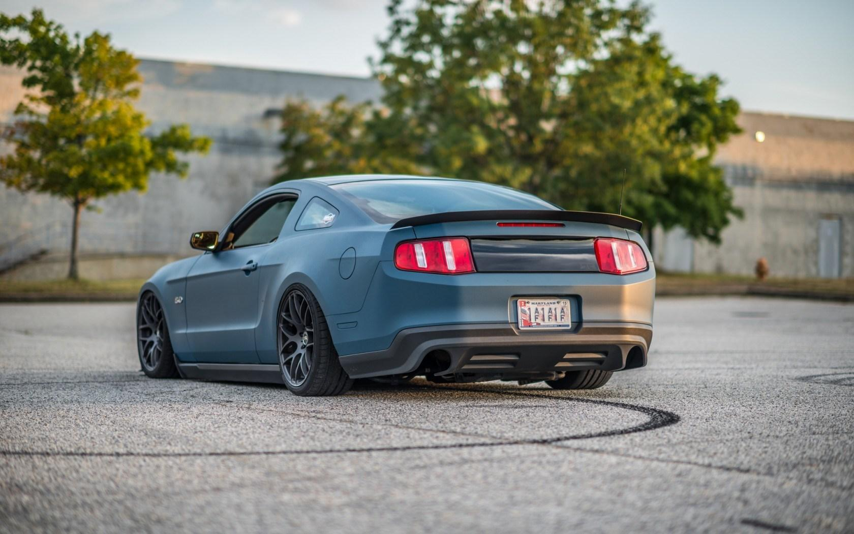 Ford Mustang Tuning Car Rear Wallpaper  Other  Wallpaper