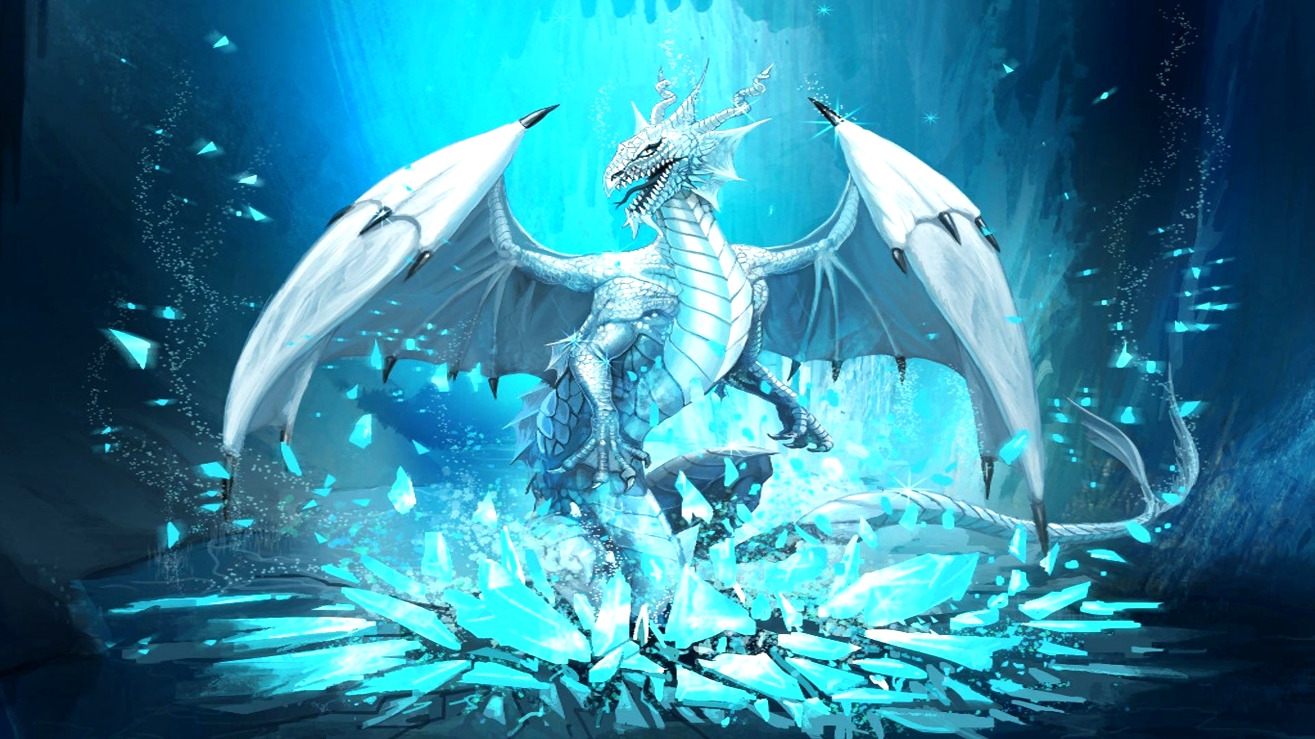 Game Of Thrones Ice Dragon Wallpaper HD