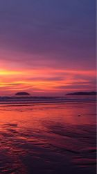 iphone sunset beach wallpapers hd fantasy mobile nature backgrounds phone skyline pretty pure plus background sunsets ocean sea thailand pink