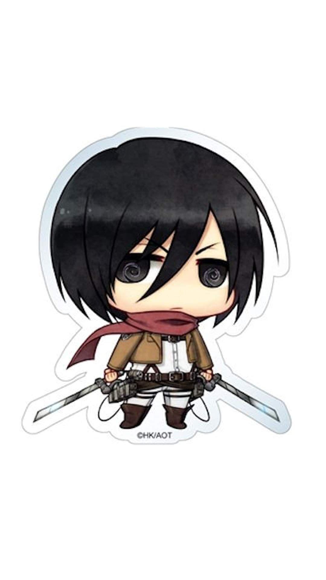 Karakter levi ackerman di serial anime attack on. Foto Anime Attack On Titan Mikasa