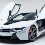 White Sports Car Doors Open Bmw I8 Wallpaper 3840x2160 Hd Image Picture 07048f7f