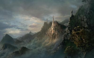 Beautiful Fantasy Castle