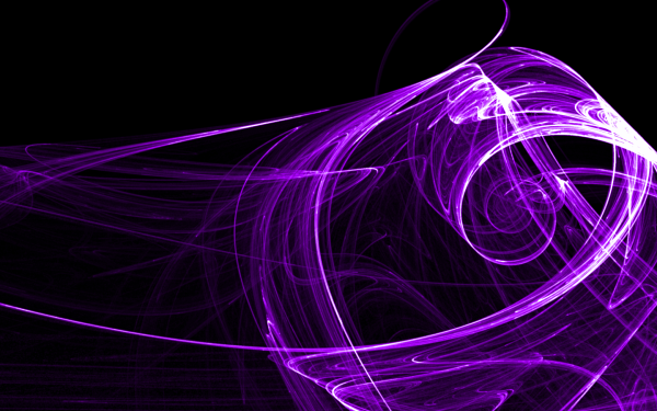 Cool Purple Abstract