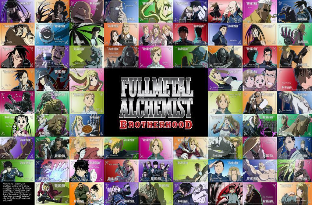 Fullmetal Alchemist Brotherhood Wallpapers  Wallpaper Cave