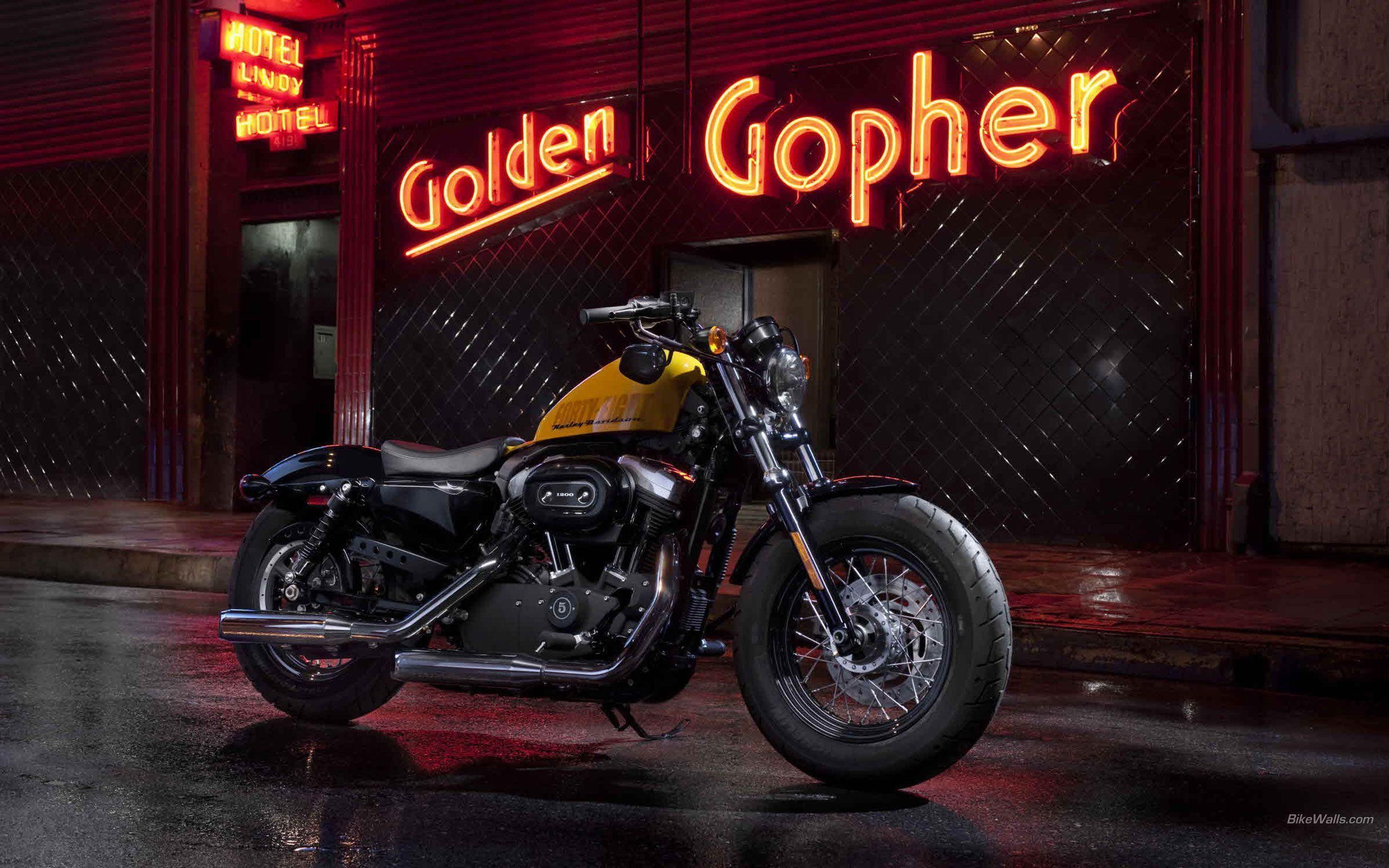 Harley Davidson Forty Eight Hd Wallpaper Harley Davidson Sportster Wallpapers Wallpaper Cave