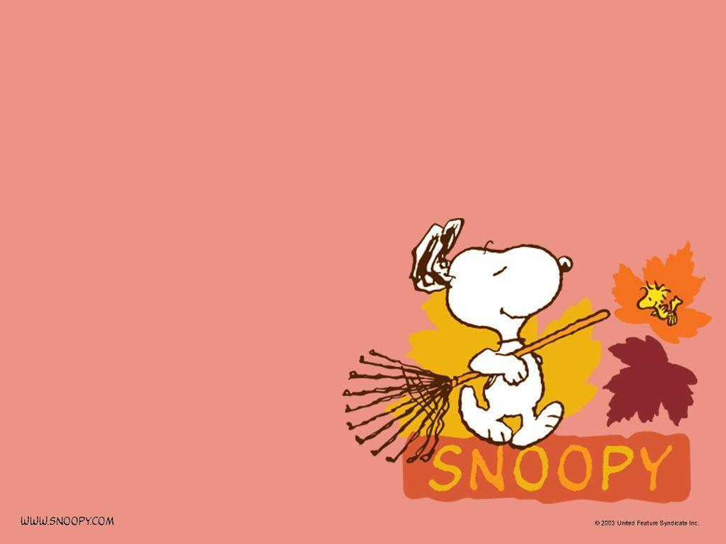 Peanuts Fall Iphone Wallpaper Snoopy Halloween Wallpapers Wallpaper Cave