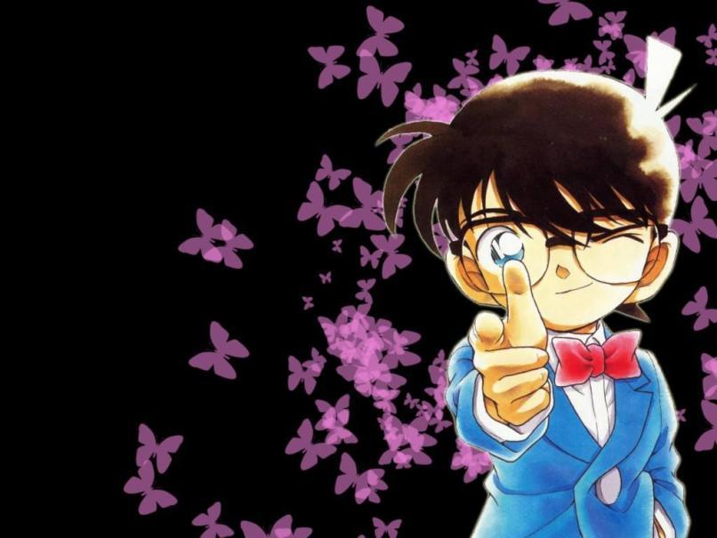 Conan Wallpaper Background Floweryred2 Com