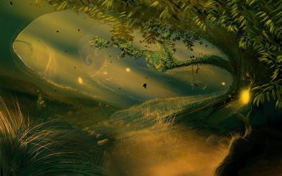 Enchanted Forest Backgrounds Wallpaper Cave
