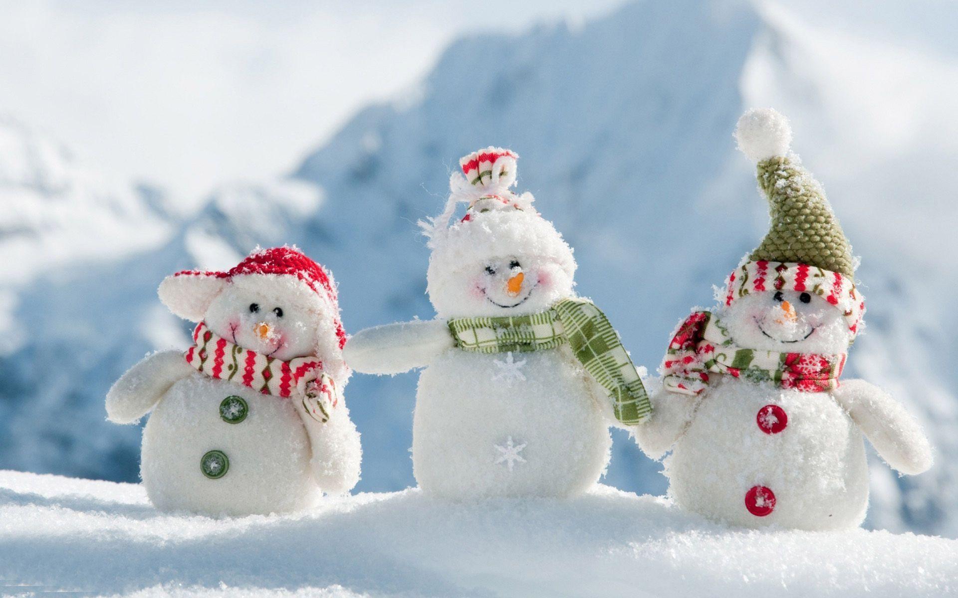 Cute Snowman Wallpapers  Wallpaper Cave