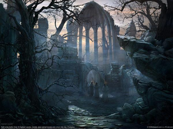 Gothic Art Wallpapers - Wallpaper Cave