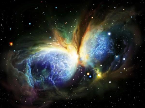 Hubble Space Wallpaper 4K