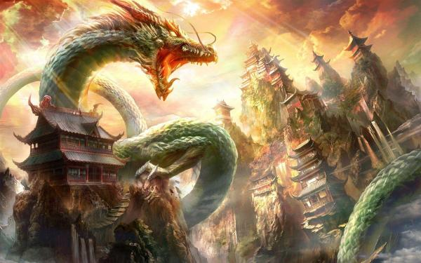 Chinese Dragon Desktop Wallpapers