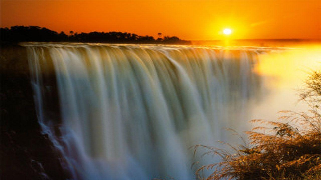Victoria Falls Sunset Wallpaper Victoria Falls Wallpapers Wallpaper Cave