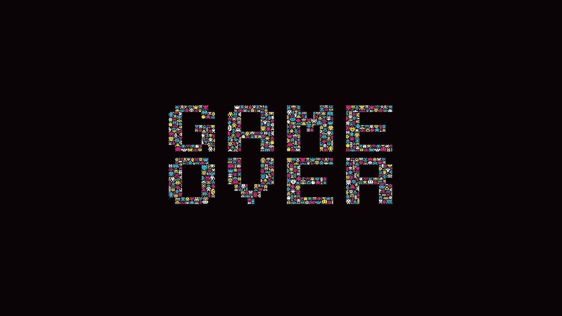 game over wallpapers wallpaper