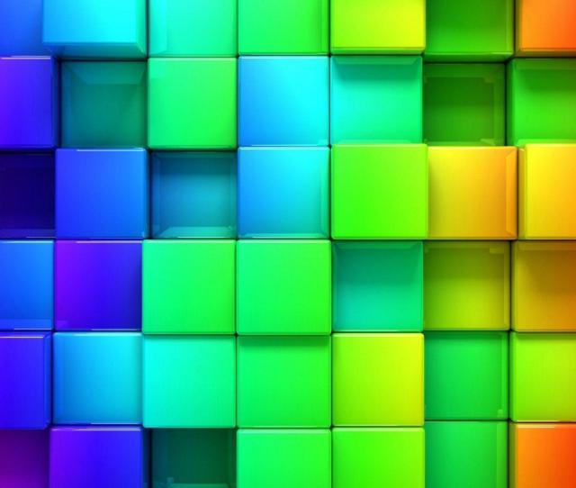 Colorful Cubes Hd Wallpapers